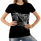 Black White Pangolin Chameleon Womens T-Shirt Tee wb1 acr40828