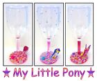 "Children's Pearl Decorated Plastic Wine Glass With ""MY LITTLE PONY"" Figure's"