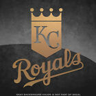 "Kansas City Royals Vinyl Decal Sticker - 4"" and Larger Sizes Available - MLB"