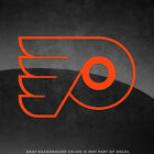"Philadelphia Flyers Vinyl Decal Sticker - 4"" and Larger - 30+ Color Options! $3.49 USD on eBay"