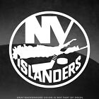 "New York Islanders Vinyl Decal Sticker - 4"" and Larger - 30+ Color Options! $3.89 USD on eBay"