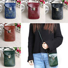 Retro Wallet Purse Leather Coin Cell Phone Women Mini Cross-body Shoulder Bag