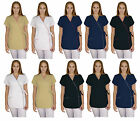 SPA Tunic Pockets Therapist Uniform Beauty Salon Dress Hair Massage Dentist Nina