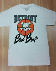 Authentic Detroit Pistons Bad Boys T-Shirt White/Black on eBay