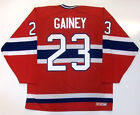 BOB GAINEY MONTREAL CANADIENS CCM MASKA JERSEY