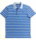 RLX Golf Ralph Lauren Men's T-Shirt Blue/White Stripe Performance Polo