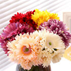 Gerbera Sunflowers Bouquet 7 Heads Artificial Silk Flowers Wedding Home Decor