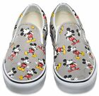 NIB Vans Classic Slip-On (Disney) Mickey Mouse Frost Gray Shoes