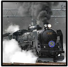 STEAM TRAIN - LOCOMOTIVE - SET OF FUN COASTERS - GIFT/ PRESENT/ BIRTHDAY - NEW