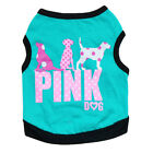 Small Chihuahua Dog Clothes Pet Vest Cat Puppy Tee Shirt for Teacup Dog yorkie