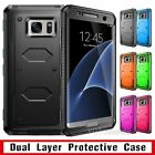 Samsung Galaxy S7 S8 S9 S10 Plus Case Cover Shockproof Hybrid Hard Rugged Rubber