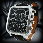 V6 Brand Top 3 Movement Design Casual Sports Quartz Men's Wrist Watch Relojes