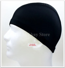 Spandex Dome Cap Helmet Liner Sports FootBall Biker Beanie Hat Head wrap Black