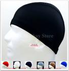 Kyпить Spandex Dome Cap Helmet Liner FootBall Biker Beanie Hat Head Black *Please Read* на еВаy.соm