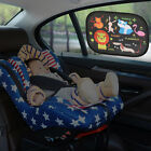 window cling letters - 2pcs Static Cling Baby Car Window Sun Shades Cartoon Children Auto Sunshades New