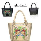 2Clrs- Montana West Embroidered Double Pistol Concealed Carry Satchel Bag