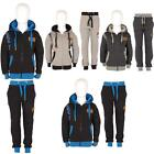 New Boys Kids Childrens Full Top Bottom Sports Gym Hooded DL FUNK Tracksuits