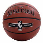Spalding NBA Silver Copmposite Rubber Outdoor Basketball Brown
