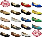 New Womens Laser Cut Perforated Flat Shoes Casual and Fashion Women Flats