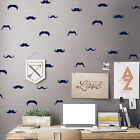 1 set Novelty Removable Home Little Mustache Wall Stickers for Room Decoration