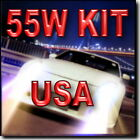 55W 9006 XENON HID CONVERSION KIT FOR LOW BEAM 4300K 6000K 8000K 10000K !
