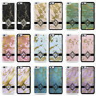 Marble Glitter Effects Monogram Initial Personalised Phone Case for iPhone 6 6s