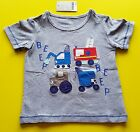 New Cars Little Maven  Baby Toddler Short Sleeve  T-Shirt 18 Months