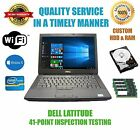 "Dell Latitude E6410 14"" Laptop Intel Core i5 Windows 10 Pro Custom HDD and RAM"