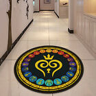 Kingdom Hearts Glass Circle Velboa Floor Rug Carpet Room Doormat Non-slip Mat 11