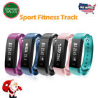 Bluetooth Smart Watch Bracelet Band Heart Rate Monitor Sport Fitness Tracker SMS