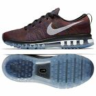 Nike Flyknit Air Max 620469-016 Black/Blue/Red Men's Reflective Running Shoes