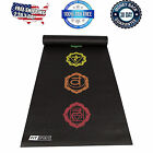 Yoga Mat Exercise Fitness Pilates Camping Gym Workout Meditation Pad Thick Black