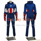 The Avengers 1 Captain America Cosplay Steve Rogers Uniform Costume Male Outfit