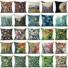 how many lights for a 6ft tree - Many Trees & Flowers Pattern Cotton Linen Pillow Case  Cushion Cover Home Decor