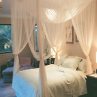 Mosquito Net Double King Bed Canopy White Or Black New UK Seller