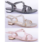 womens ladies party sandal holiday wedding occasion bridesmaid bride shoe size