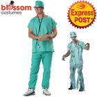 Dr Scrubs Lab Surgeon Hospital Medical Mens Hospital Costume + Stethoscope