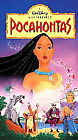 DISNEY'S MASTERPIECE  Pocahontas (VHS, 1996), CLAM SHELL- $1 COMBINED SHIPPING