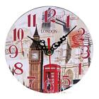 Vintage Rustic Wooden Wall Clock Antique Shabby Chic Retro Home Kitchen Decor