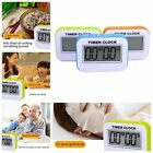 Large HD Digital LCD Folding Travel Alarm Clock with Thermometer Calendar Timer