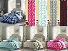 7 Piece Reversible Geometric Comforter Set With Curtain Set As Buy Option!!! image