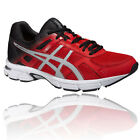 Asics Gel-Essent 2 Mens Red Cushioned Running Road Sports Shoes Trainers