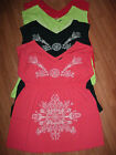 COVER UP Dress Summer Plus *3X* Red Lime Green Navy Coral Floral Empire Waist