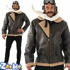 WW2 Fighter Pilot Fancy Dress Costume 1940s Wartime Military Outfit Biggles
