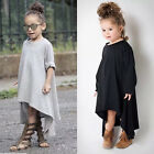 Baby Girls Kid Toddler Afghan Maxi Loose Batwing Dress Clothes Sundress Outfits