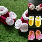 Baby Shoes, Patriotic Crochet Baby Girl Booties, Mary Jane Shoes 0-3 4th of July