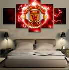 Manchester United Football 5 pcs Painting Canvas Wall Art Poster Home Decorative