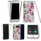 360° Silicone gel full body Case Cover for many mobiles - pink rose