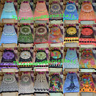 Indian Bed sheet Mandala Bedspread Beach Sheet Wall Hanging Tapestry Bed Cover image
