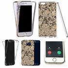 360° Silicone gel full body Case Cover for many mobiles - marble design q52